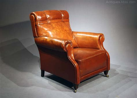 antique leather armchair quality antique leather armchair antiques atlas
