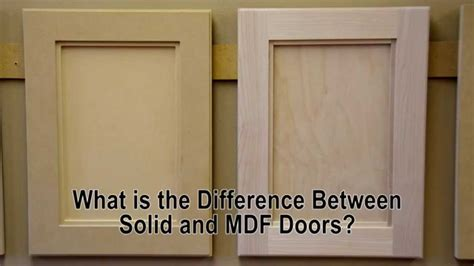 Painting Mdf Kitchen Cabinets by What Is The Difference Between Solid Wood And Mdf Cabinet
