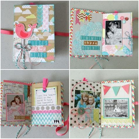 scrapbook ideas tutorial mini albums a collection of diy and crafts ideas to try
