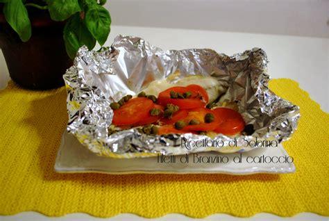 come cucinare il filetto di branzino filetti di branzino al cartoccio il ricettario di sabrina