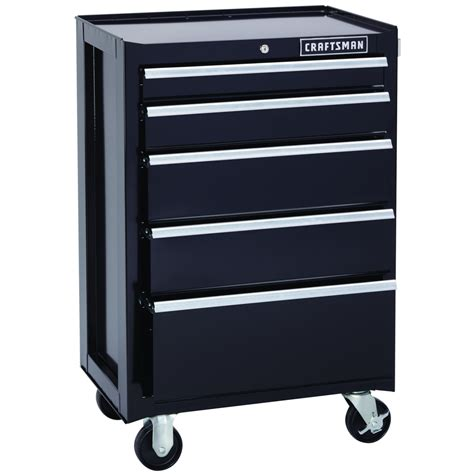 craftsman 5 drawer tool box kmart craftsman 26 5 in wide 5 drawer bottom chest black