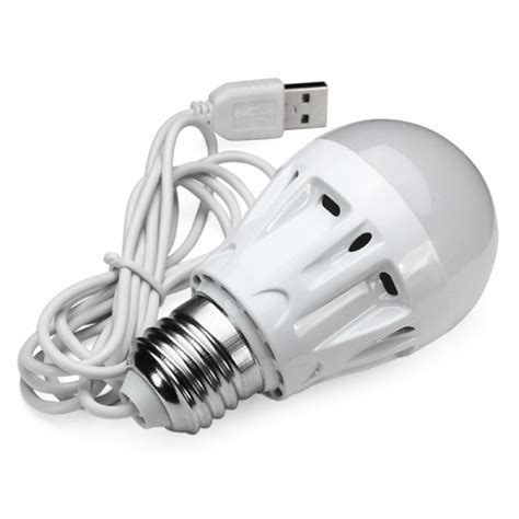 dc powered led lights buy dc 5v 5w usb powered bulb type led l for