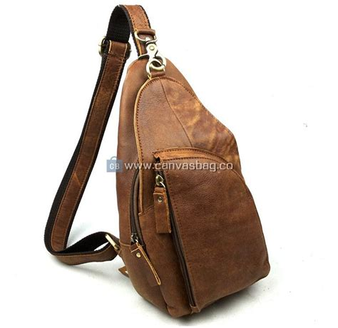 Calf Leather Small Sling Bag sling backpacks for leather sling bag sling backpack