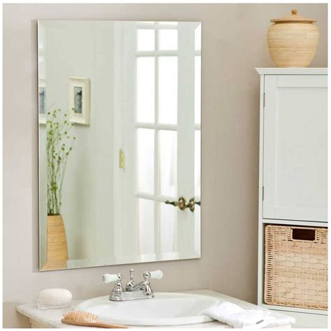 Decorative Wall Mirrors For Bathrooms by 15 The Best Wall Mirrors Without Frame