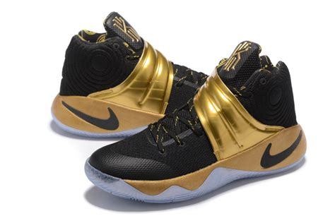 kyrie irving basketball shoes nike kyrie 2 pe black gold mens basketball shoe kyrie