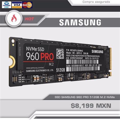 Samsung Ssd 960 Pro M 2 512gb ssd samsung 960 pro m 2 512gb 8 199 00 en mercado libre