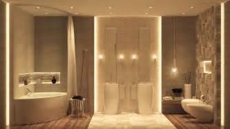 Neutral Color Schemes For Bedrooms - candlelit bathroom interior design ideas