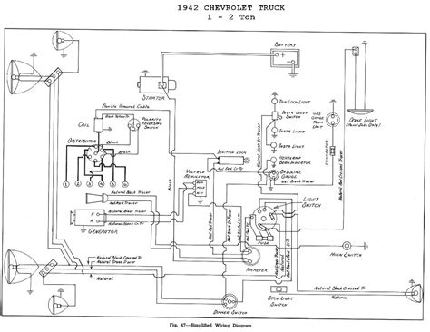 1952 chevy 1 2 ton up wiring diagrams wiring diagrams