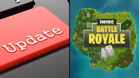 fortnite release update  playground ltm