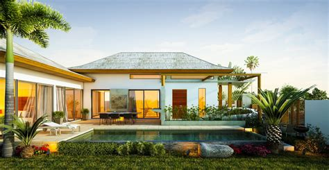 alluring tropical home with modern design ifresh design