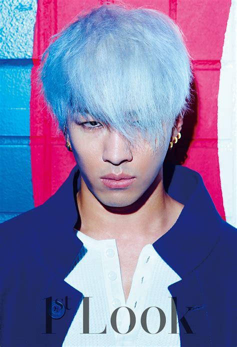 big bangs taeyang rocks colored hair  st   fashionisto