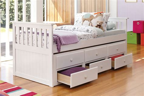 Bailey Mattress by Bailey Captain S Single Bed Frame With Trundle By