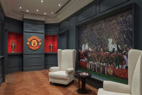 Interior Design Of Fame 2015 by Manchester United Telepresence Room One Space