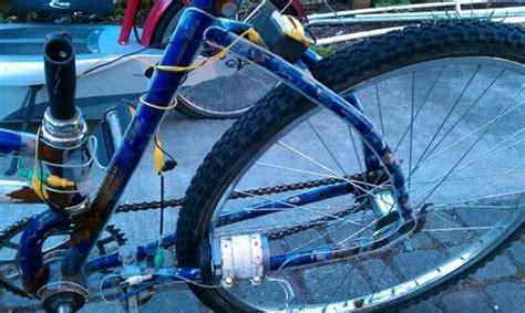 pedal powered bike light pedal powered el wire bike light 171 hacks mods