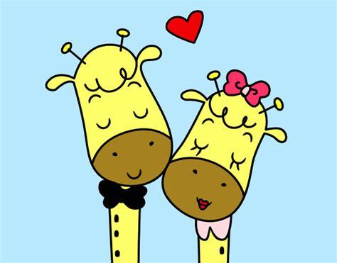 imagenes de amor jirafas jirafas enamoradas animadas imagui