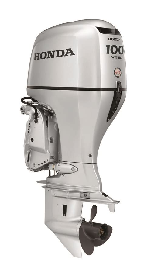 new honda boat motors honda marine bf100 outboard engine yachting magazine