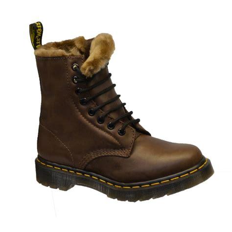 dr marten boots dr martens dr martens serena brown k2 faux