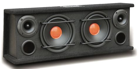 Speaker Advance A 32 dual electronics sbx6502 2 way range enclosed speakers with 6 5 inch subwoofers
