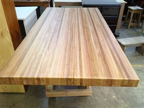 wooden bench top butchers block table tops islands trolleys benchtop