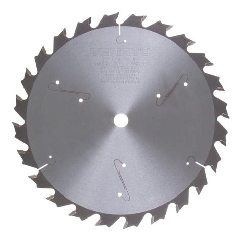 table saw rip blade tenryu iw 25524cbd1 10 quot table saw ripping blade 24t 5 8