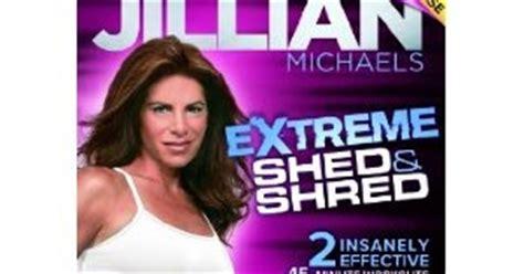 daily workouts jillian shed shred