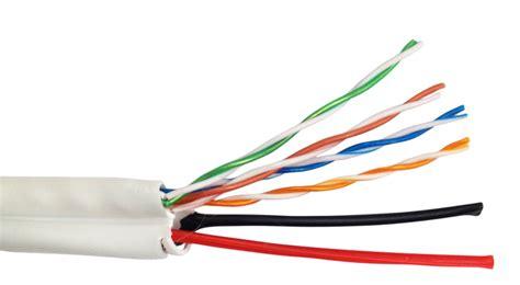 Kabel Utp cable utp blanco categoria 5e 2 pares de 16 awg cca