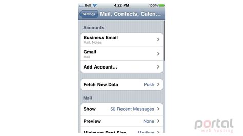 format email on iphone how to delete an email account on your iphone