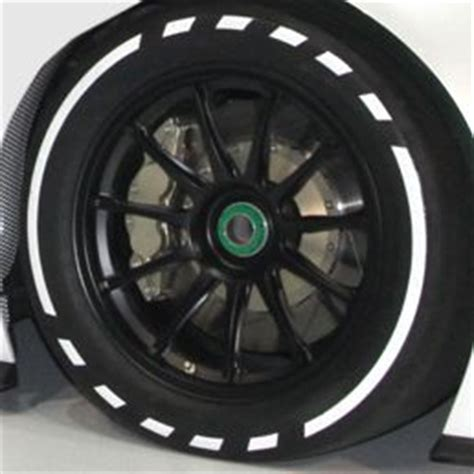 dotted lines tire sidewall design