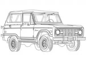 Page Ford 1966 Ford Bronco Coloring Page Free Printable Coloring Pages