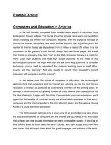 Article Essay Format by Exle Article