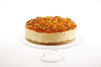 The Handmade Cheesecake Company - mandarin orange handmade cheesecake company