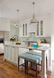 Kitchen With Island Ideas classic kitchen ideas with small island with seating and white cabinet