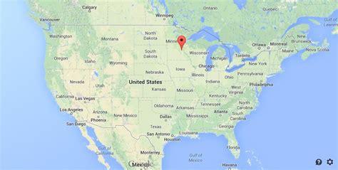 usa map minneapolis where is minneapolis on map of usa