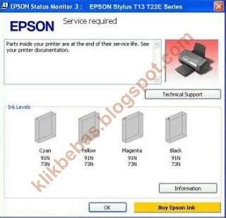 cara reset printer epson t13 dengan software october 2013 berbagai informasi