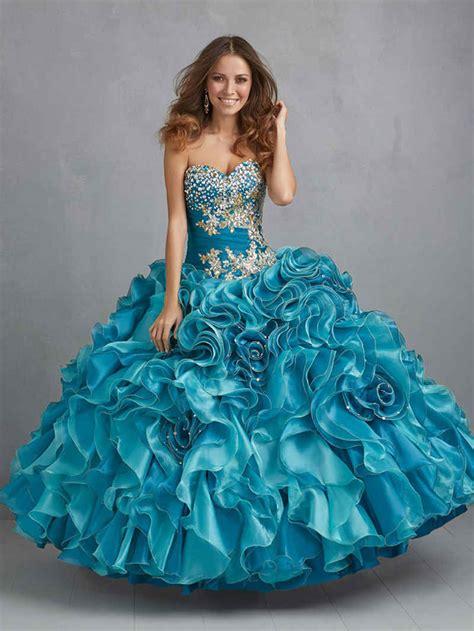 Vestidos De Quince Con Volados Vestidos De Fiesta Quotes | de 90 ideas de vestidos y decoraciones de 15 a 241 os en azul