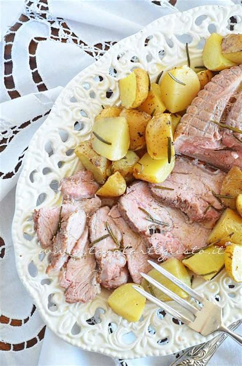 come si cucina un arrosto arrosto di vitello al forno con patate la ricetta passo passo