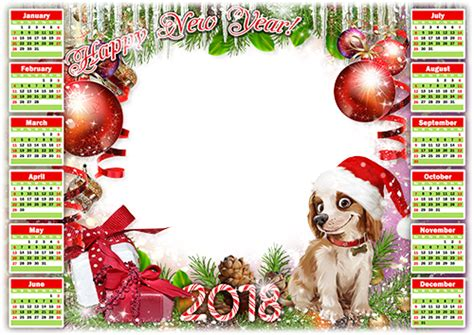 new year photo frame editor photo frames calendar 2018 happy new year