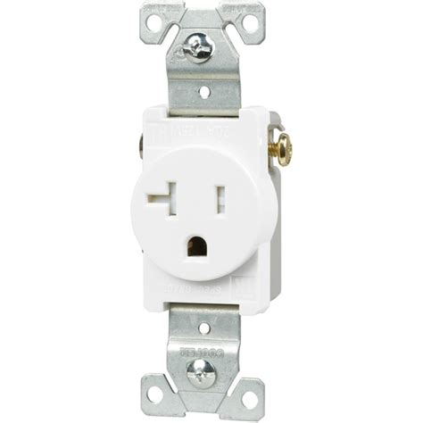 ge 20 backyard outlet with switch and gfi receptacle
