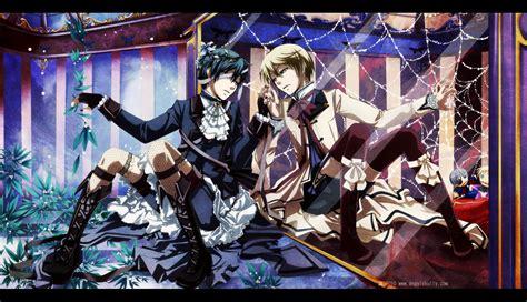 wallpaper anime mirror kuroshitsuji behind the mirror by kuro mai on deviantart