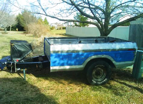 pickup bed cers 1979 ford f 150 truck bed as trailer classic cars today