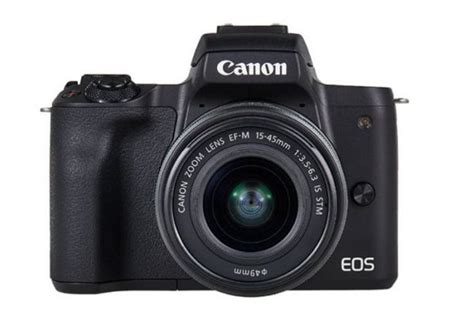 canon eos m50 mirrorless launched in india