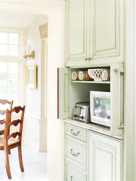 pocket doors in kitchen cabinetry perfect for hiding a tv microwave placement diy sarah craft decor art