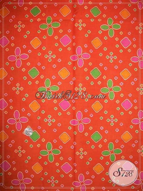 Kain Jumputan Dan Batik Printing jual aneka motif batik model jumputan k1072p toko