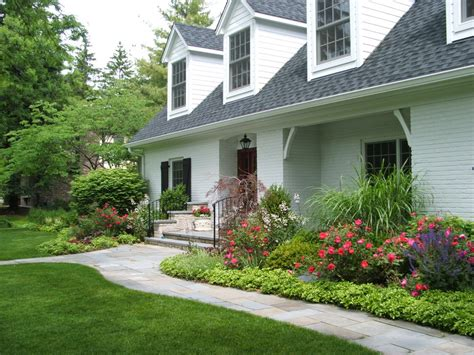 house landscaping pachysandra landscape traditional with front entrance