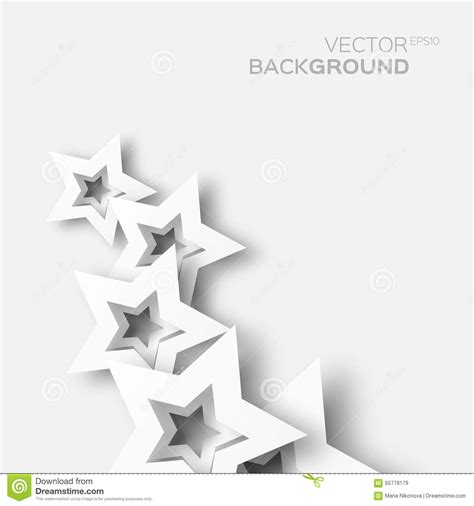 Origami White Paper - abstract origami white paper background stock