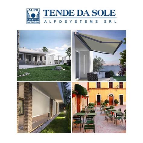 tende da sole novara tende da sole motorizzate novara alfosystems srl