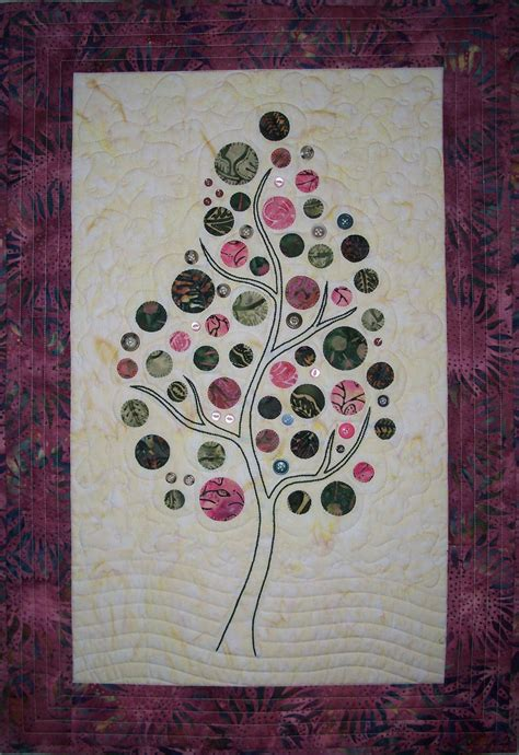pattern for wall quilt hanger branching up wall hanging quilt pattern