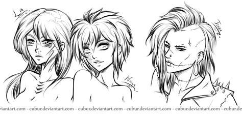Headshot Drawing cubur drawings headshot sketches