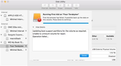 format hard drive mac couldn t unmount disk hands on with disk utility in el capitan macworld uk