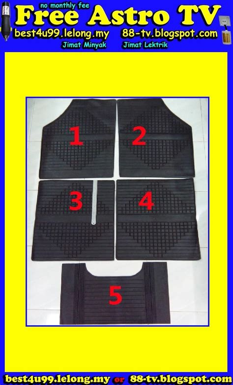 Karpet Getah universal rubber mat anti slip floor end 4 25 2017 4 15 pm